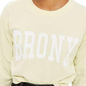 Topshop Bronx Sweatshirt